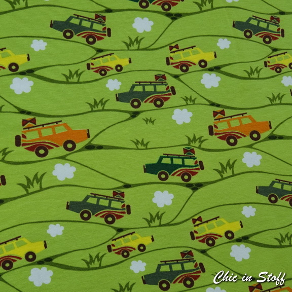 Jersey - Safari Cars Green