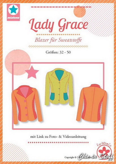 Schnittmuster Farbenmix - Lady Grace